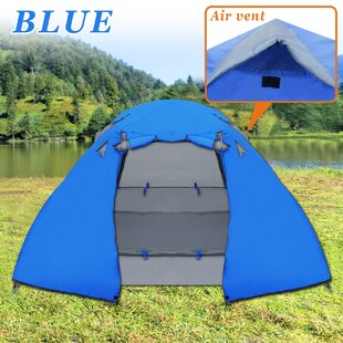 Strong Camel Portable Backpacking 1-2 Person Tent Waterproof