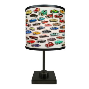 Read Reviews Screven Car Collage 16.88 Table Lamp By Latitude Run