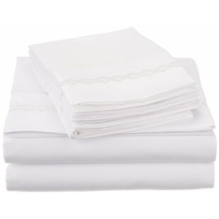 Warrenville Embroidery Sheet Set