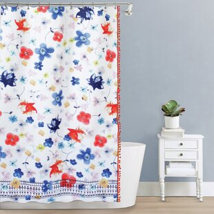 Karam Fabric Single Shower Curtain