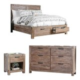 Benally Storage Standard Configurable Bedroom Set by Foundry Select