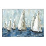 'Coastal Sailboat Race' Print