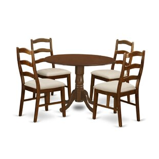Spruill 5 Piece Dining Set by August Grove Best Choices