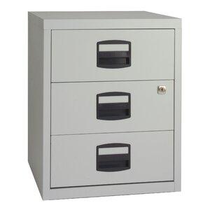 Aktenschrank mit 3 Schubladen von Home Etc