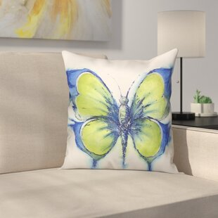 Prindle Butterfly Outdoor Throw Pillow