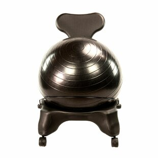 Exercise Ball Chair With Dual Wheel by AeroMAT Great price