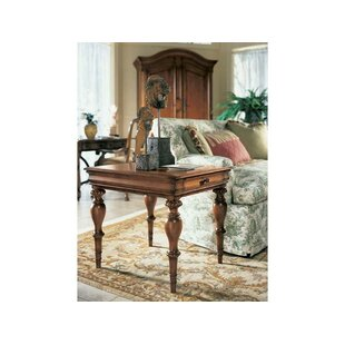 Cachet Tannin End Table with Storage