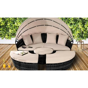 Jalyn Garden Daybed With Cushions By Sol 72 Outdoor