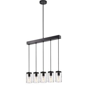 Williston Forge Myrtle Avenue 5-Light Kitchen Island Pendant