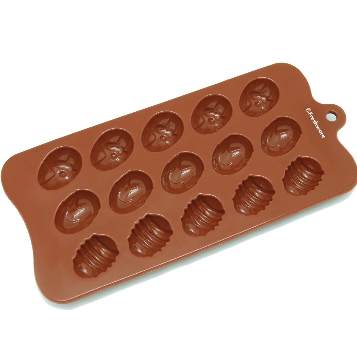 Freshware 15 Cavity Silicone Mold Pan Wayfair