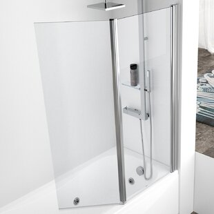 Curved Shower Screens Over Bath curved bath shower screen | wayfair.co.uk