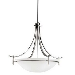 Mcgruder 3-Light Bowl Pendant by Ebern Designs