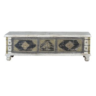 Linden Old Trunk Coffee Table With Storage By World Menagerie