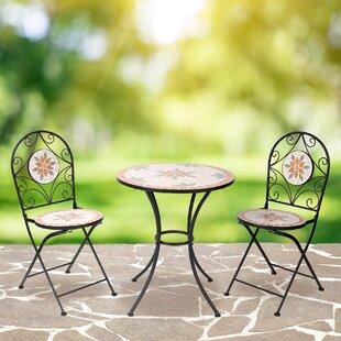 Mosaic Bistro Table Set | Wayfair