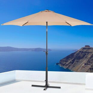 Rina 2.7m Traditional Parasol By Freeport Park