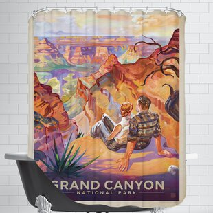 KC NP GrandCanyon AGrandVista Single Shower Curtain