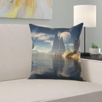East Urban Home Milkweed Throw Pillow Wayfair