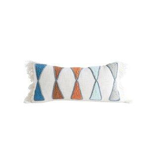Brice Cotton Lumbar Pillow Cover & Insert