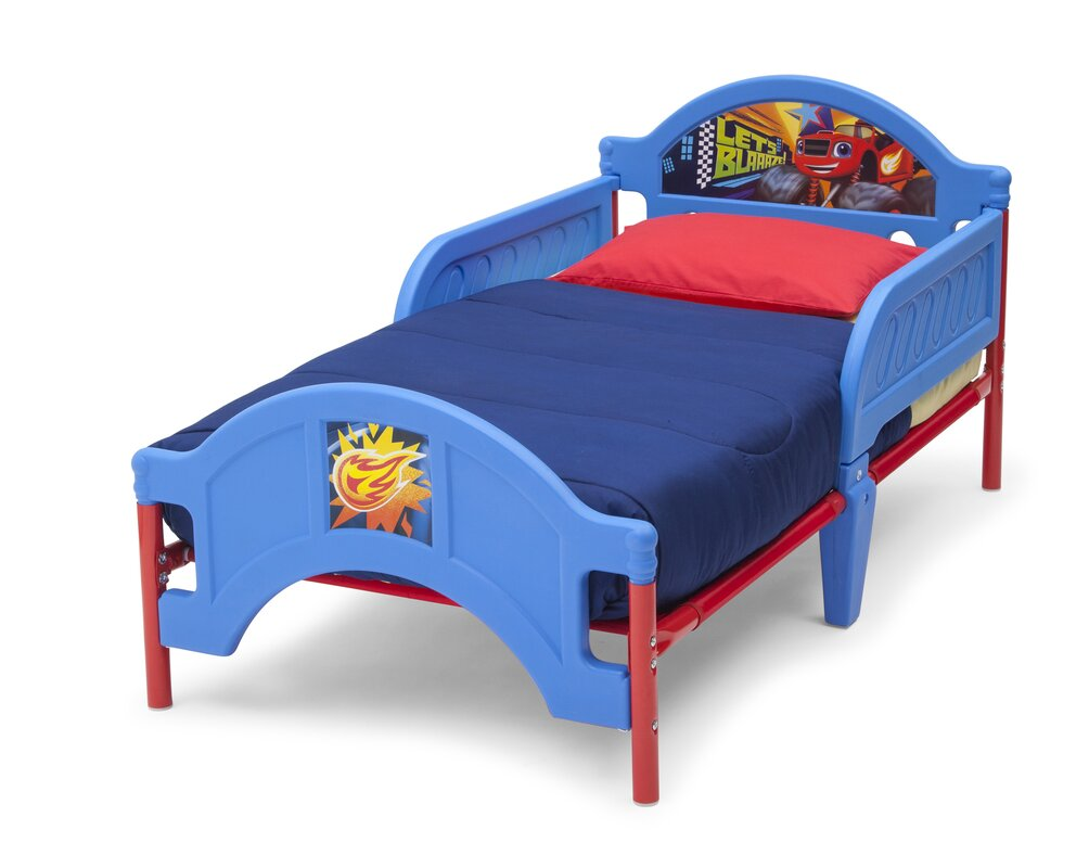 Nick Jr Blaze And The Monster Machines Convertible Toddler Bed