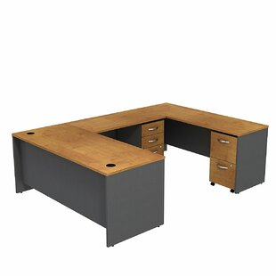 Series C U-Shape Executive Desk by Bush Business Furniture