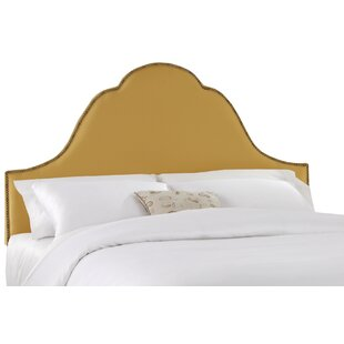 Shantung Upholstered Panel Headboard by Skyline Furniture