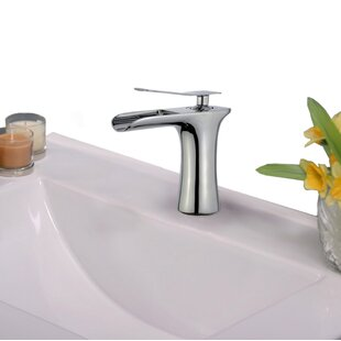 Legion Furniture Single Hole Bathroom Faucet with Drain Assembly