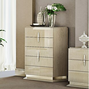 Everly Quinn Kersh 5 Drawer Chest