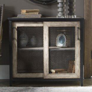 Maris Wire Mesh 2 Door Accent Cabinet