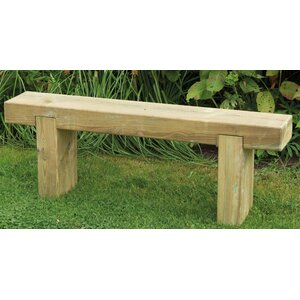 Sleeper Wooden Bench