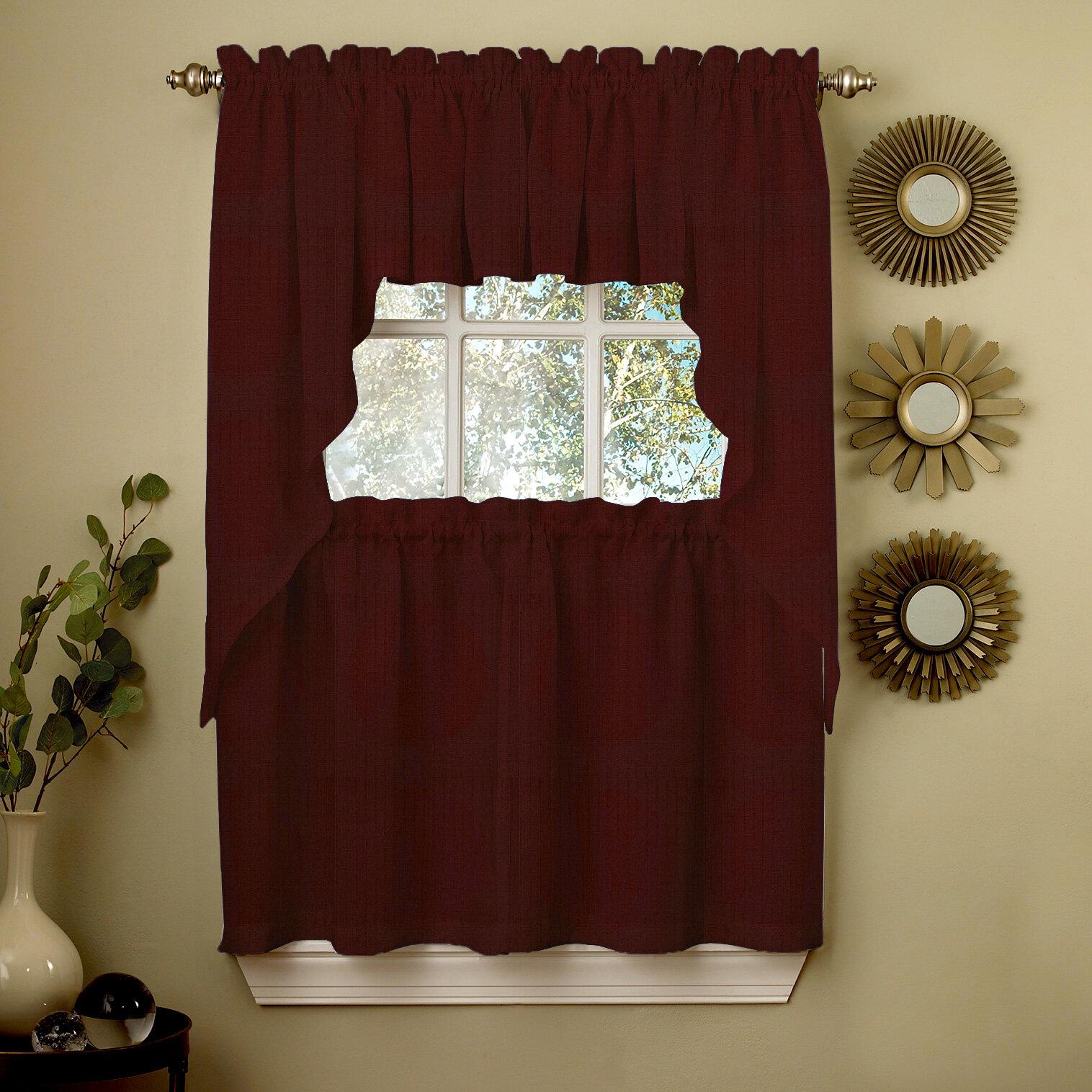 Enola Kitchen Tier Curtain