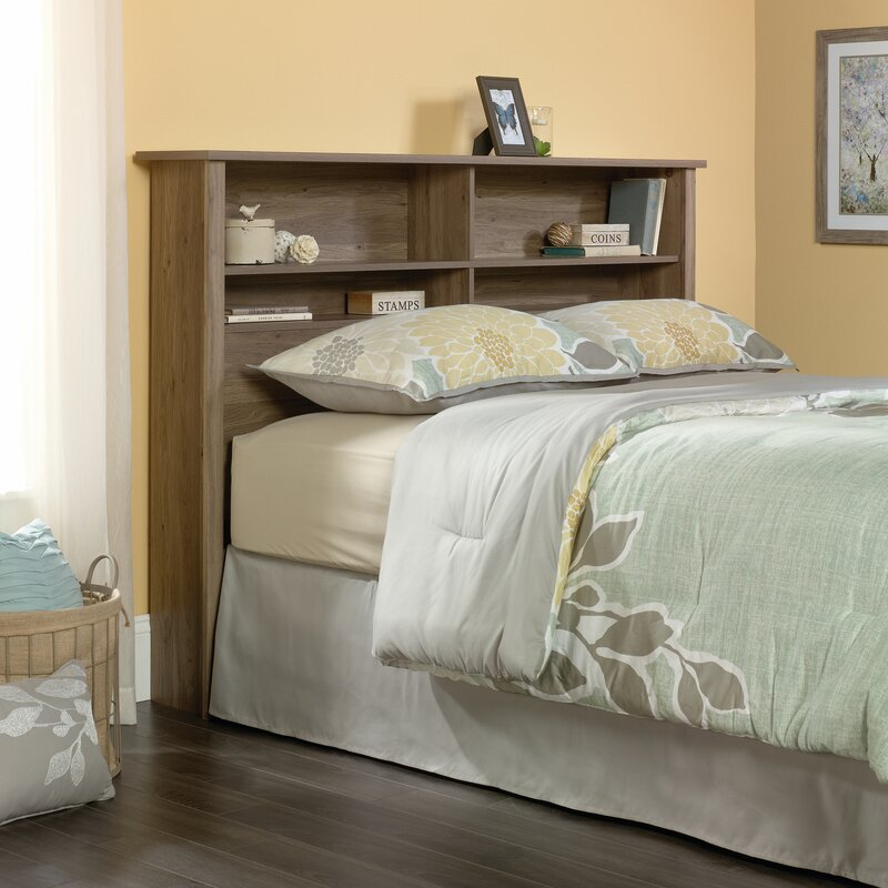 Bookcase Headboard andover mills full/queen bookcase headboard & reviews | wayfair