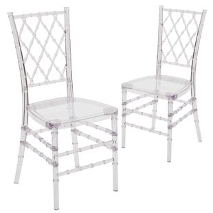 Mercer41 Larra Crystal Dining Chair (Set ..