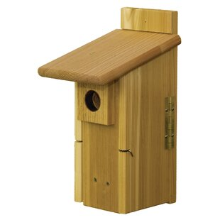 Stovall Ultimate Nest Box 14.5 in x 7 in x 9 in Bluebird House