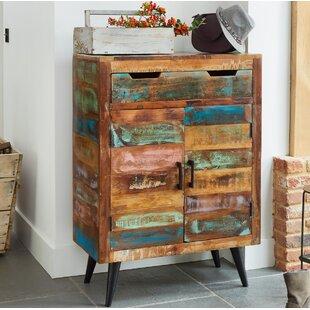 Trisha 16 Pair Shoe Storage Cabinet By World Menagerie