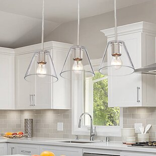 3 Light Kitchen Island Pendant Lighting You Ll Love In 2021 Wayfair