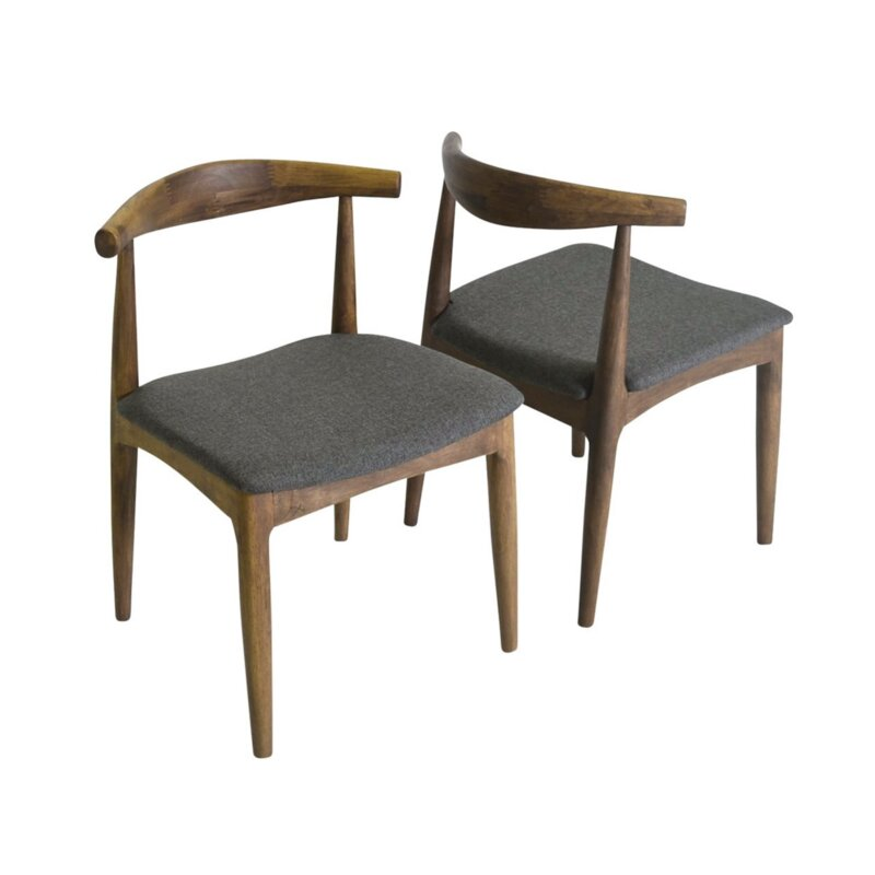 George Oliver Libertyville Upholstered Dining Chair (Set of 2)