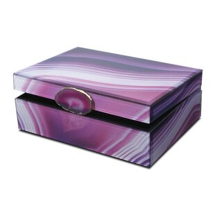 Compare prices Glass Jewelry Box By Mikasa