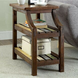 Werth End Table With Storage by Millwood Pines Cool