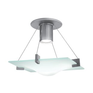 Sonneman Handkerchief 1-Light Semi Flush Mount