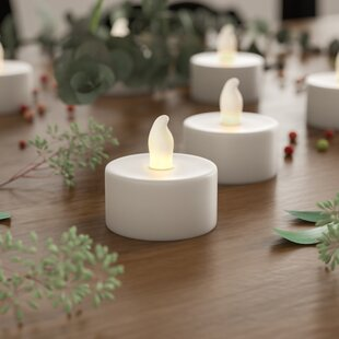 Flameless/Tea Light Candle (Set of 24)