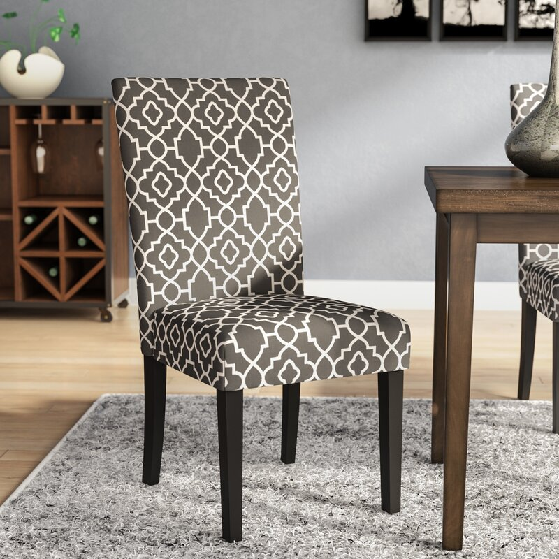 cloth dining chairs. Kinkead Upholstered Dining Chair Cloth Chairs