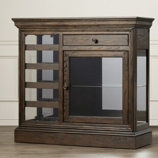 Bolander Floor Wine Cabinet by Darby Home Co