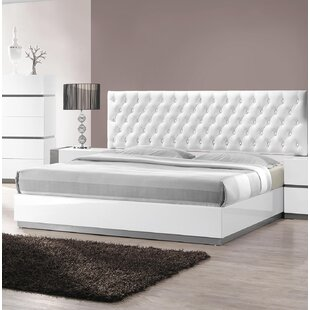 Savings Kajal Upholstered Platform Bed by Orren Ellis Reviews (2019) & Buyer's Guide