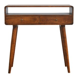 Solid Wood Console Table By George Oliver