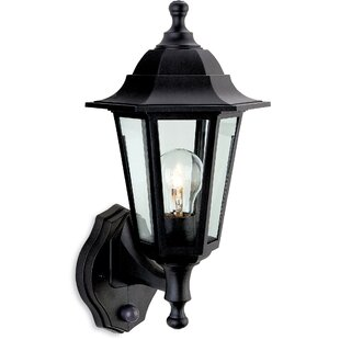 Review Rosalyn Outdoor Sconce With PIR Sensor