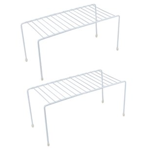 Evelots Small Kitchen Helper Shelf (Set of 2)