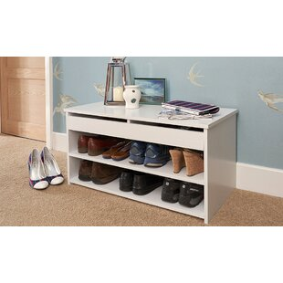 8 Pair Stackable Shoe Storage Cabinet By Wayfair Basics