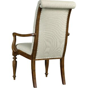 Archivist Upholstered Dining Arm Chair (Set of 2) by Hooker Furniture