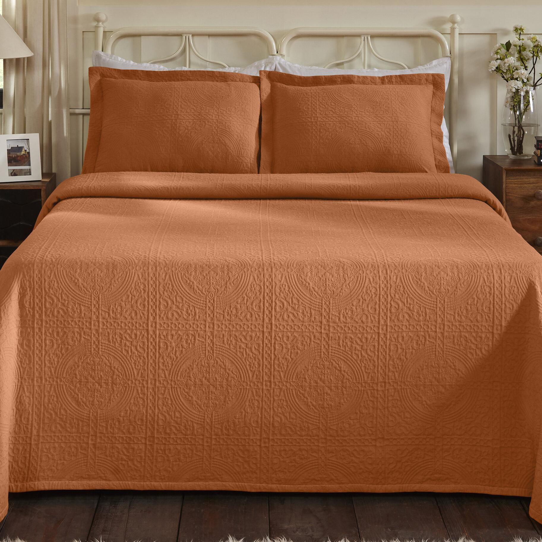 King Size Orange Bedding You Ll Love In 2021 Wayfair