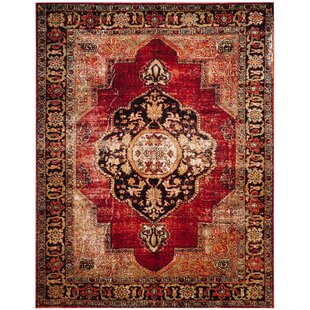Best Choices Fitzpatrick Red Area Rug By Bloomsbury Market
